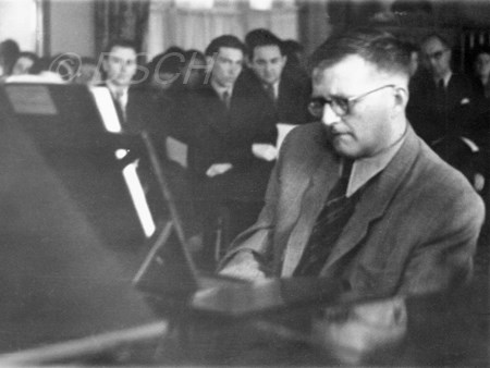 <p>Shostakovich is playing Preludes and Fugues in cla…</p>