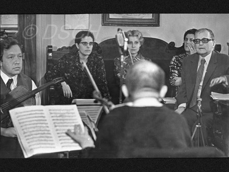 <p>Home rehearsal of the Fourteenth Quartet: Fyodor D…</p>