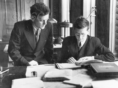 "<p>Shostakovich looks at the ""Song about the Counterp…</p>"