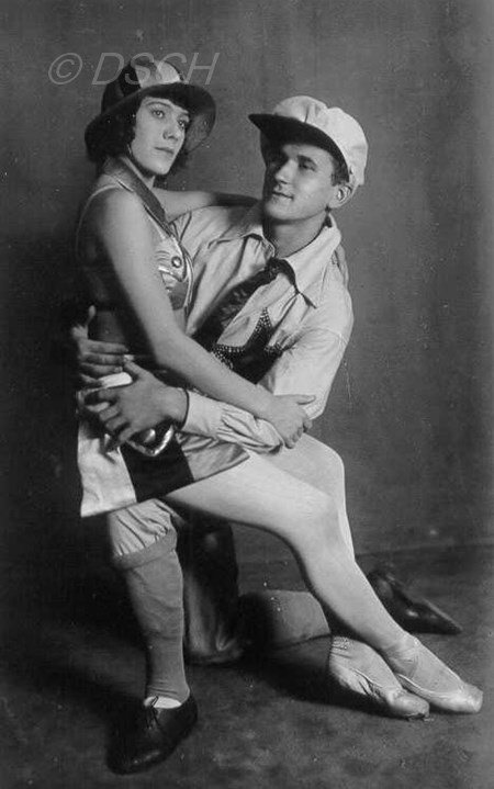 "<p>Jordan and Lavrovsky in the ballet ""The Golden Age…</p>"